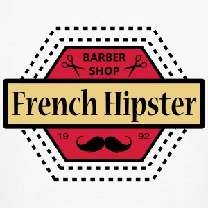FRENCH HIPSTER - T-shirt bio Homme