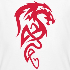 Tribal Dragon - Mannen Bio-T-shirt
