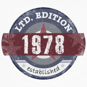 LtdEdition 1978 - T-shirt bio Homme