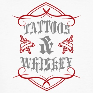 Tattoo / Tattoos: Tattoos & Whiskey - Men's Organic T-shirt