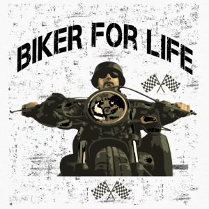 Motorcycle for life! - Men's Organic T-shirt