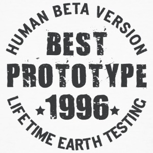 1996 - The birth year of legendary prototypes - Men's Organic T-shirt