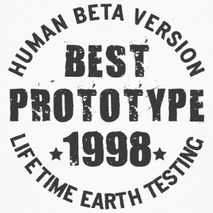 1998 - The birth year of legendary prototypes - Men's Organic T-shirt