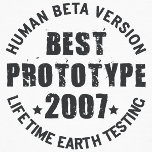 2007 - The birth year of legendary prototypes - Men's Organic T-shirt