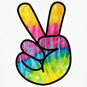 Peace Out Dude - Mannen Bio-T-shirt