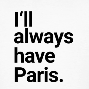 Always Paris - Männer Bio-T-Shirt