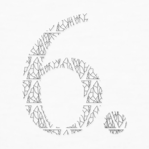 6 cut out - Men's Organic T-Shirt