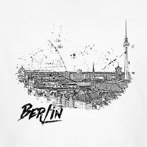 Berlin - City - stad - Ekologisk T-shirt herr