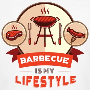 BBQ IS MY LIFESTYLE - Men's Organic T-shirt