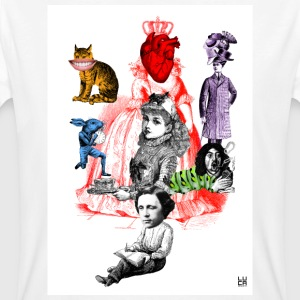 Alice in Wonderland - Camiseta ecológica hombre