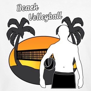 Beach volley - T-shirt ecologica da uomo