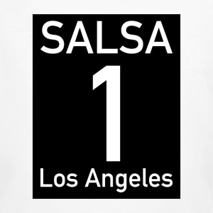 Salsa on1 Los Angeles - T-shirt ecologica da uomo