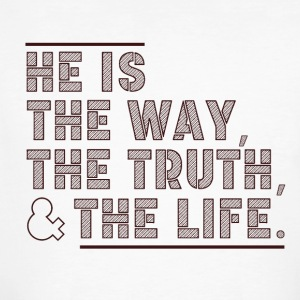 The Way - The Truth - The Life - Männer Bio-T-Shirt