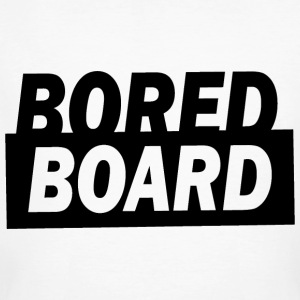 Bored board - Men's Organic T-shirt