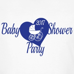 Blue Baby Shower Party - Men's Organic T-shirt