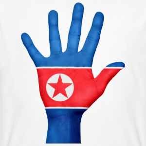 NORTH KOREA / NORDKOREA HAND - Men's Organic T-shirt