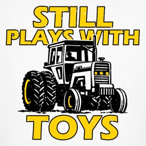 Tractor man's toy - Men's Organic T-shirt