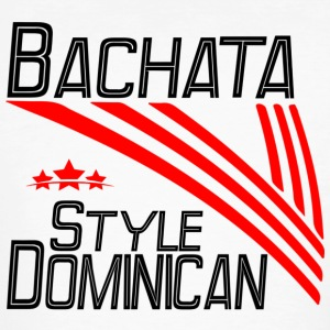 Bachata dominicaine Style - Pro Dance Edition - T-shirt bio Homme