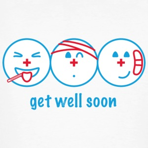 Get Well Soon - Økologisk T-skjorte for menn