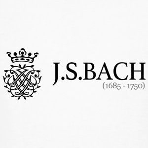 J.S.Bach (1685-1750) - Men's Organic T-shirt