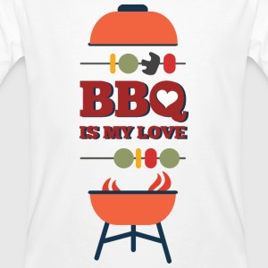 BBQ IS MY LOVE - Men's Organic T-shirt
