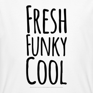 Fresh Funky Cool - Mannen Bio-T-shirt