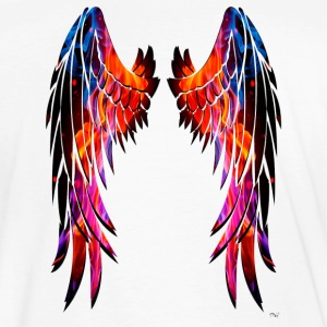 Colours wings - Camiseta ecológica hombre