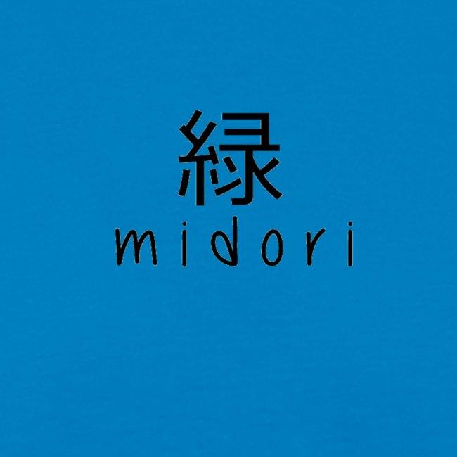 midori japan - black
