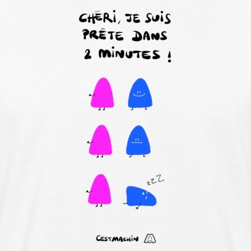 Deux minutes chéri - T-shirt bio Homme