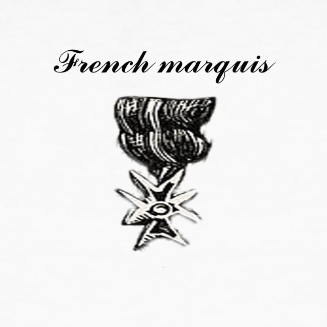 T-shirt French marquis n°2