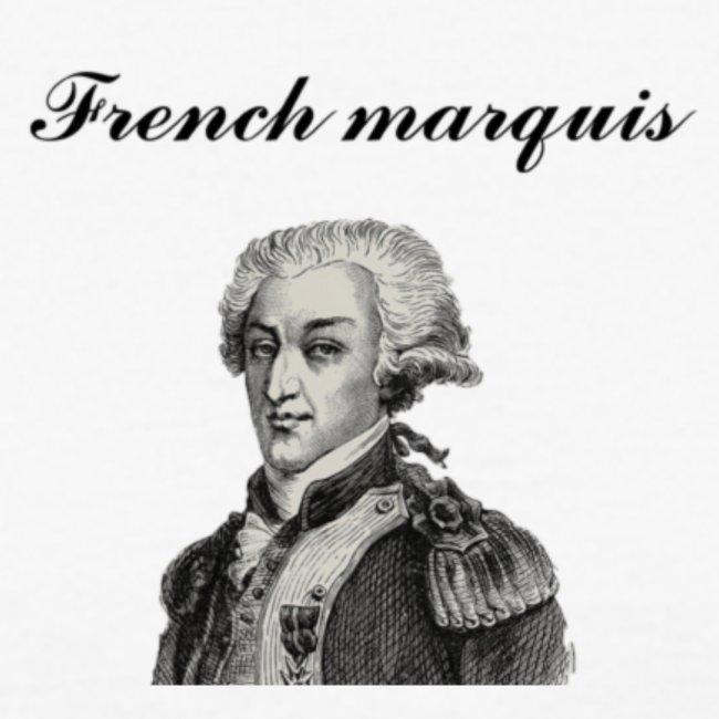 T-shirt French marquis n°1