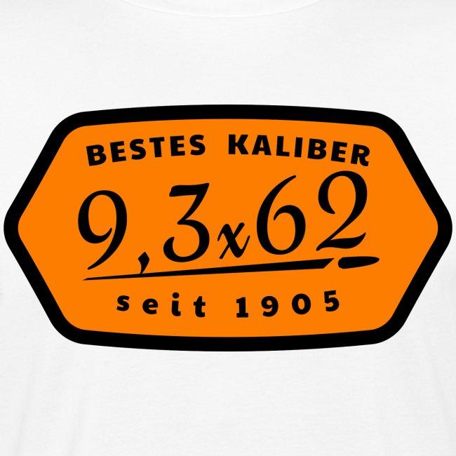 Kalibershirt 9,3x62 Jägershirt Vintage Style