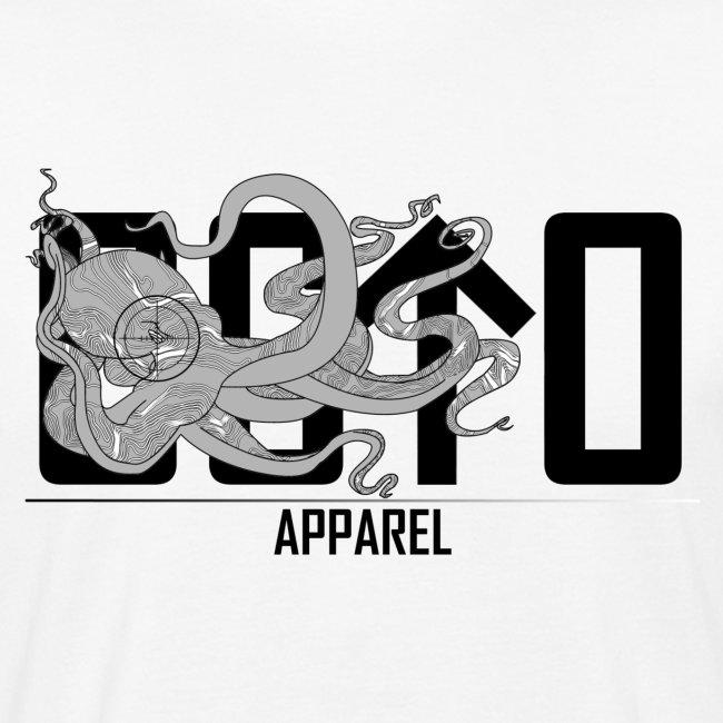 OctoApparel Logo schwarz