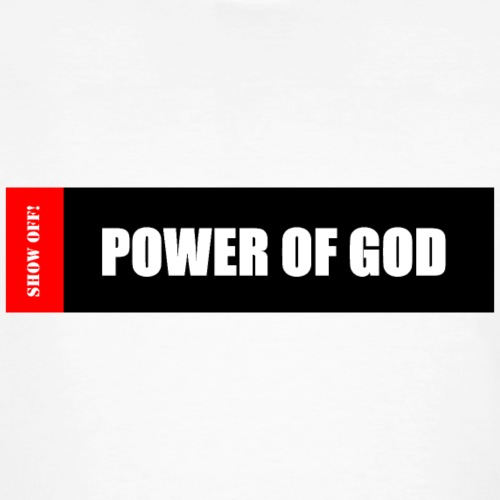 POWER OF GOD - Men's Organic T-Shirt