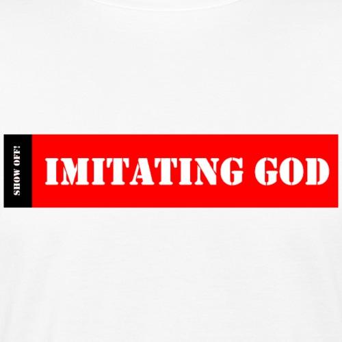 IMITATING GOD - Men's Organic T-Shirt
