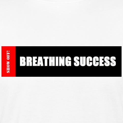 BREATHING SUCCESS - Men's Organic T-Shirt