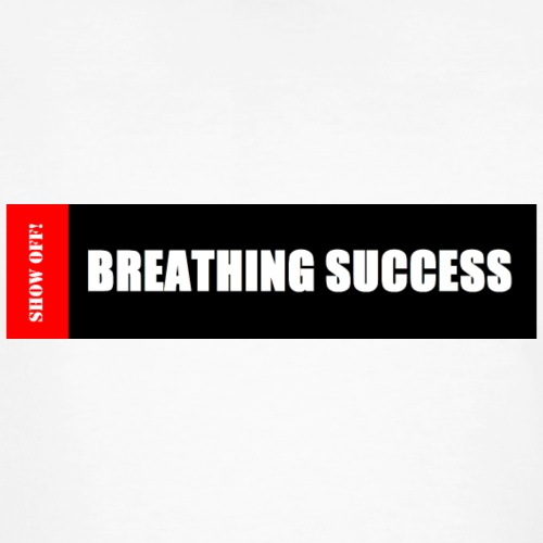 BREATHING SUCCESS - Men's Organic T-Shirt