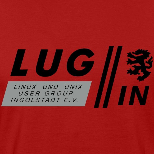 LUG-IN Logo mit Text