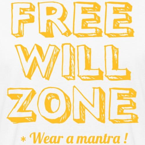 FREE WILL ZONE - T-shirt ecologica da uomo