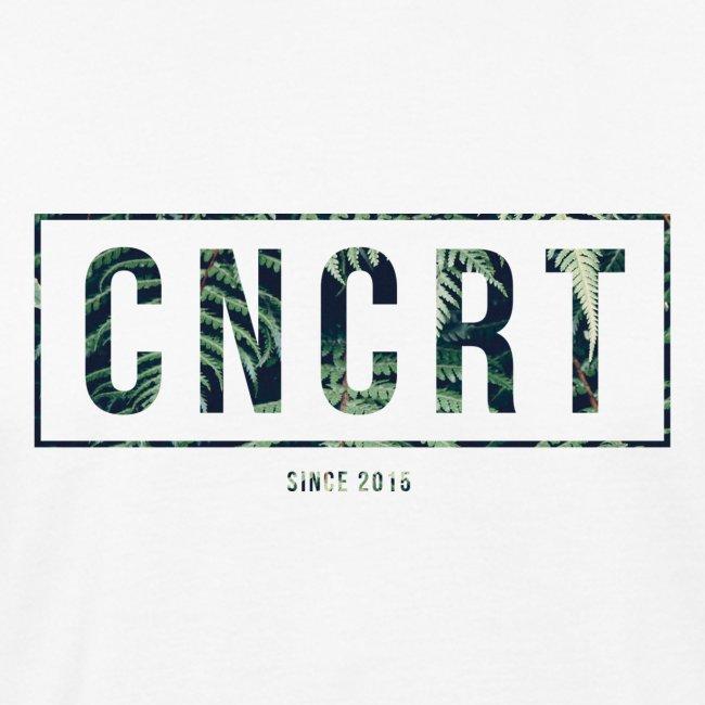 CNCRT white shirt (Plant Print)