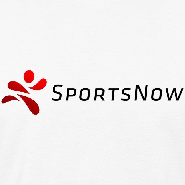 SportsNow-Logo mit schwarzer Schrift