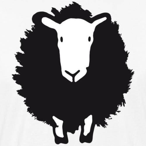 Schwarzes Schaf - Männer Bio-T-Shirt