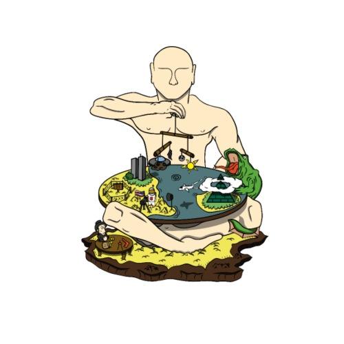C-tlas - Männer Bio-T-Shirt