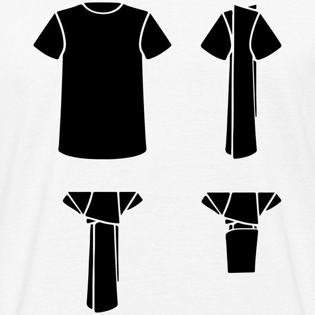 T-shirt diaper
