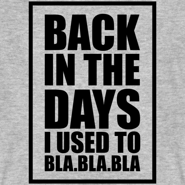 Back in the days... √