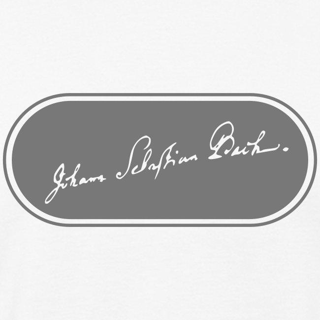 Bach Signatur Ellipse