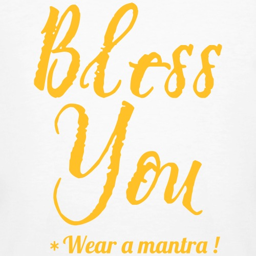 BLESS YOU - T-shirt ecologica da uomo