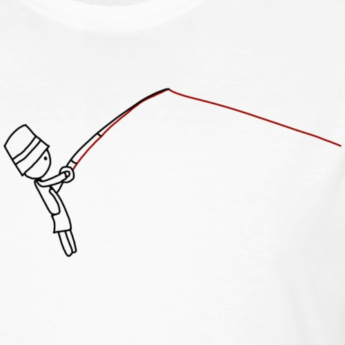 mann-fisch-save - Männer Bio-T-Shirt