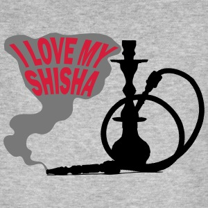 I LOVE MY SHISHA! - Men's Organic T-shirt