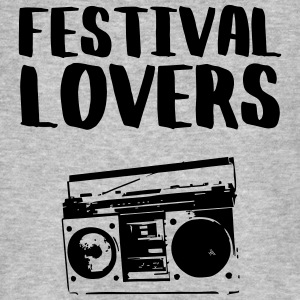 festival lovers - T-shirt bio Homme